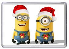 MINIONS Christmas Fridge Magnet