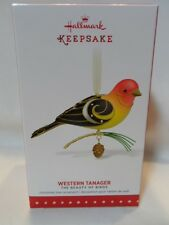 2015 Hallmark Keepsake Ornament Western Tanager The Beauty Of Birds #11 B20