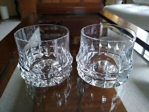 MCM Rosenthal Studio Linie Holdfast Crystal Whiskey Old Fashion Glasses 2