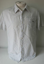 Fox Racing Button Up Short Sleeve Outdoor Casual Ridding Shirt Sz. L Used!