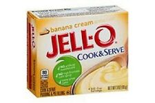 Jello Cook & Serve Banana Cream Pudding and Pie Failling 85g (BBD JUNE 18)