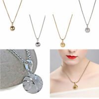 New Stainless Steel Basketball 3D Sports Style Chain Pendant Necklace
