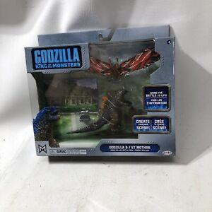 NEW Godzilla King Of Monsters & ET Mothra Kings Collide Battlepack Jakks 2019