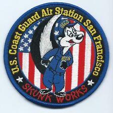 Uscg coast Guard patch San Francisco Skunk Works 3-5/8 Dia #2329