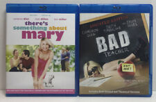 Theres Something About Mary (Blu-ray) No Digital. Bad Teacher (Blu-ray) 2 Movies