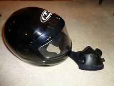 HJC Snowmobile Helmet  AIR 5  Barely used Mint condition Black XL