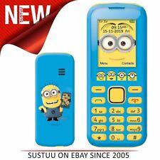 Lexibook GSM20DES Despicle Me Dual Sim Mobile Phone│FM Radio│Bluetooth│Torch