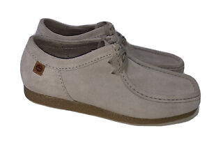 Clarks Size 8 Men's Shacre Suede Lace-Up Moc Toe Desert Chukka Boot