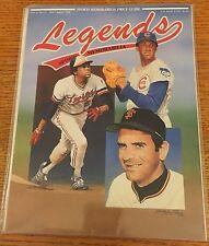 Rod Carew Perry Jenkins Legends Sports Memorabilia Magazine (Jul/Aug 1991)