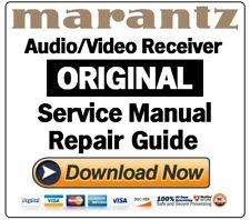 Marantz SR7008 Receiver Service Manual and Repair Guide