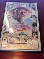 Agatha Christie's: Appointment With Death - Original One Sheet Poster - Framed