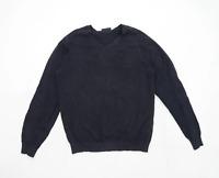 Burton Mens Size M Cotton Blend Black Jumper
