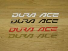 2 Shimano Dura Ace Cycling Stickers Helmet Frame Forks Wheel Phone Decals bike