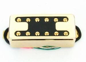 Artec Mini Filtertron Humbucker Neck Pickup Gold