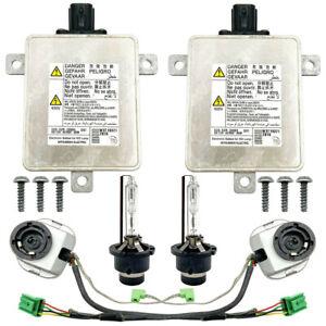 2x OEM For 07-14 Acura TSX Xenon Lamp Ballast Igniter & D2S Bulb Kit Controller
