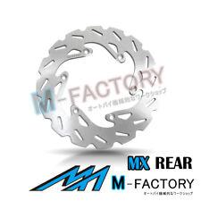 Rear Brake Disc MX Rotor x1 Fit KTM EXC 250 F 03-16 04 05 06 07 08 09 10 11