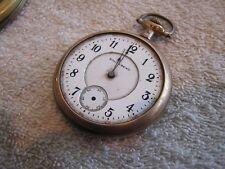 Antique Vintage South Bend Pocket Watch 15 Jewels Windsor Case