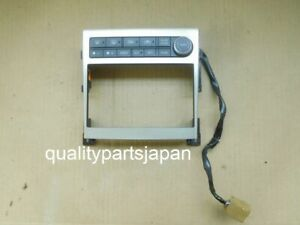 Nissan Skyline V35 Double DIN Console Panel INFINITI G35  2005 2007 Dual AC