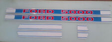Ford 5000 hood decals