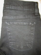 Levis 512 Perfectly Slimming Boot Stretch Womens Black Jeans Size 12 P M x 26.5