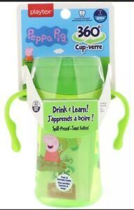 ⚡Playtex Peppa Pig 360 Degree  Cup, 10 oz, 12M +