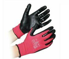 Shires All Purpose Yard Gloves, Pink/Black, Large
