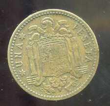 ESPAGNE  1 pesetas 1947       (48)     ( bis )