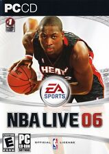 NBA Live 06 PC Games Window 10 8 7 XP Computer N.B.A. basketball wade miami heat