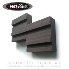 "10x  BLOCK100 Pro Acoustic Foam Tiles 12"" 305mm Studio Sound RoomTreatment"