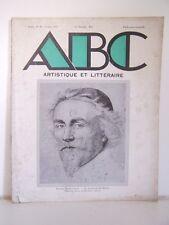 █ Magazine ABC ARTISTIQUE et LITTERAIRE N°82 1931 art █