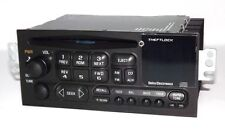 Chevy 2001 S10 Pickup AMFM CD Player Radio w Upgrade Auxiliary mp3 Input in Face