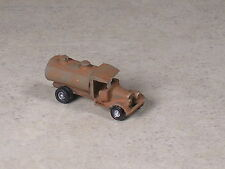 Z Scale 1928 Rusted Out Ford Fuel Oil Tank Truck.