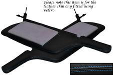 Punto azul se adapta a Mitsubishi Gto 3000gt 92-99 2x Sol Viseras Cuero cubre sólo