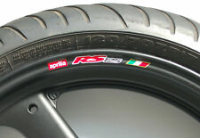 APRILIA RS125 WHEEL RIM STICKERS DECALS - rs 125 fp r