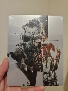 NEW Metal Gear Solid V The Phantom Pain PS4 Steelbook ONLY (NO GAME)