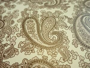 Paisley Pattern Paper Guitar Body Decal