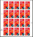 3315 PROSTATE CANCER AWARENESS PANE OF 20 UNFOLDED MINT NH