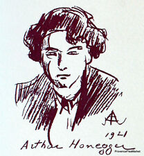 ARTHUR HONEGGER   FRANCE Document Philatélique Officiel  0992
