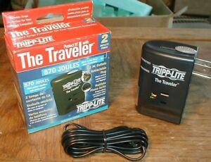 Tripp-lite Portable Surge Protector Traveler 870j Travel Size Light Weight NEW