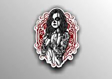 1x  Pin up Girls Vinyl Graphic, Sticker, Decal, Custom, Bike, Car ,Tuning #a0012