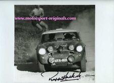 Paddy Hopkirk Austin Healey 3000 Spa-Sofia-Liege Rally 1968 Signed Photograph