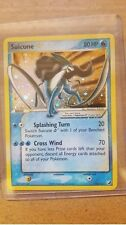 Pokemon English EX Unseen Forces Suicune Gold Star Holo 115/115 (NEAR MINT)