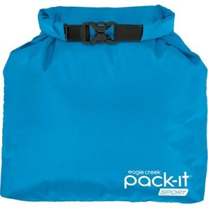 EAGLE CREEK PACK-IT SPORT ROLL TOP SAC (BLUE/BLACK)