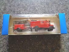 ROCO HO 1:87 Scale Miniature Model Mercedes L 1500 S LF 8 & Trailer~New