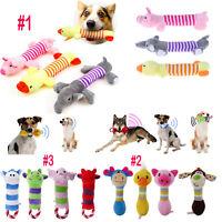 Pet Dog Cat Chew Squeak Cotton Interactive Toys Non-Toxic Puppy Squeaky Sounding