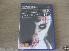 JEU PLAYSTATION 2 PS2  MANHUNT  EN ANGLAIS