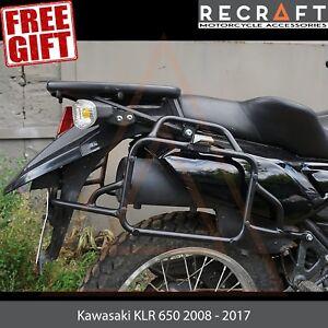 Kawasaki KLR650 2008 2009 2010 2011 Rear Luggage Rack Plate BLACK