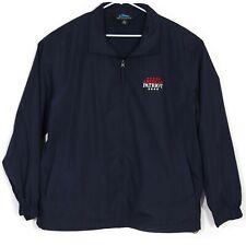 NWOT American Patriot Magazine Mens Jacket Sz 2XL Coat Embroidered Navy Blue NEW