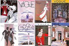 Small prints.Vogue.Set of 8.Millinery.Fashion.Beauty.Costume.Art.Artist