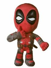 "NEW 12"" THUMBS UP DEADPOOL SOFT PLUSH TOY MARVEL"